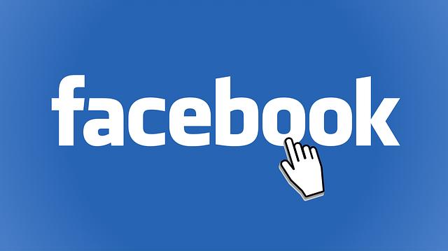 modré logo facebooku