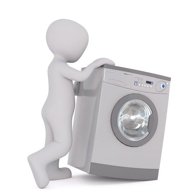panáček s pračkou