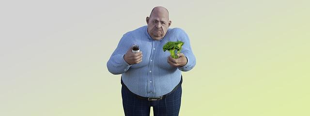 obézní postava
