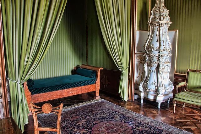 zámecký pokoj na zámku Valtice